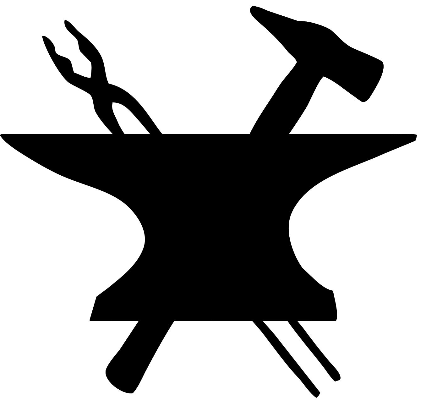 Fileblacksmith Icon Symbol Hammer And Anvilg Wikipedia