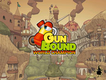 GunBound: World Champion Title Screen