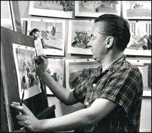 Jean Dallaire Canadian painter