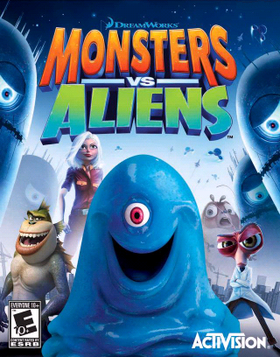 Monsters Vs Aliens Video Game Wikipedia