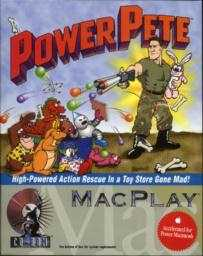 Cover art for Power Pete.