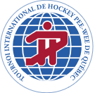 Logo of the Quebec International Pee-Wee Hockey Tournament
