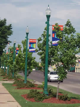 Downtown West Memphis (2010) StreetscapewithWideOpenbanners.jpg