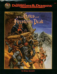 TSR9533 The Gates Of Firestorm Peak