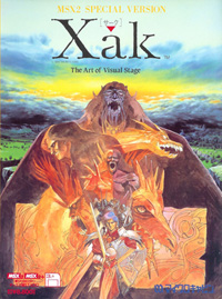 <i>Xak: The Art of Visual Stage</i> 1992 video game