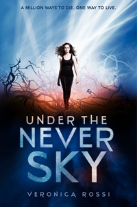 "Book cover of the novel, ""Under the Never Sky"", by Veronica Rossi.jpg"