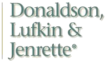 Donaldson, Lufkin & Jenrette American investment bank