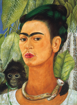 Frida Kahlo Self-portrait with monkey 1938.jpg
