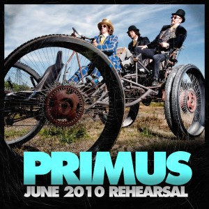 <i>June 2010 Rehearsal</i> 2010 extended play by Primus