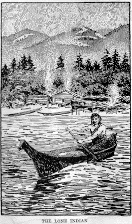 Illustration from Indian Legends of Vancouver Island by Alfred Carmichael