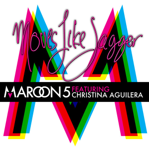 Christina Aguilera Maroon_5_Moves_Like_Jagger_cover