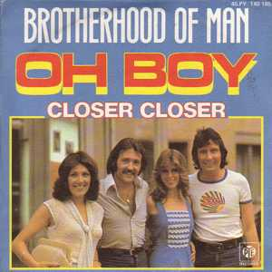Oh Boy (The Mood Im In) 1977 single by Brotherhood of Man