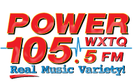 Power 105 WXTQ Athens OH Logo.png