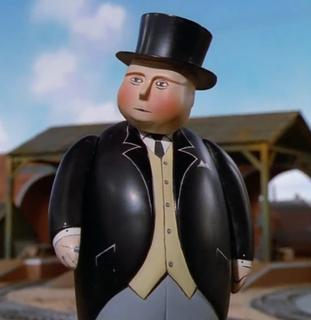The Fat Controller fictional character from The Railway Series