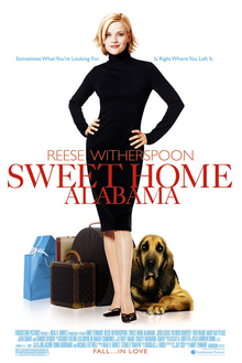 Póster Sweet home Alabama