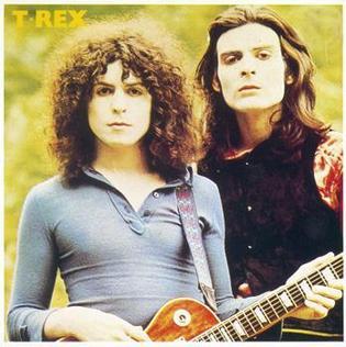 <i>T. Rex</i> (album) 1970 studio album by T. Rex
