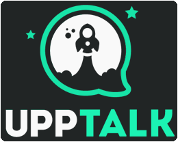 Upptalk proprietary voice-over-IP service and software application