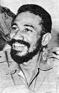 Cuban politician and one of the original commanders of the Cuban Revolution