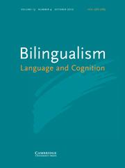 <i>Bilingualism: Language and Cognition</i> Academic journal