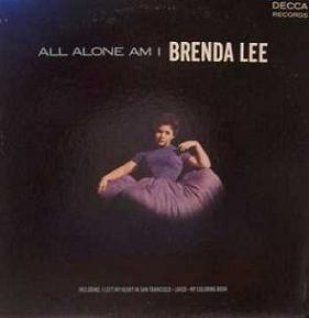 <i>All Alone Am I</i> (album) 1963 studio album by Brenda Lee