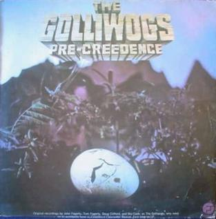 <i>Pre-Creedence</i> 1975 compilation album by The Golliwogs (aka Creedence Clearwater Revival)