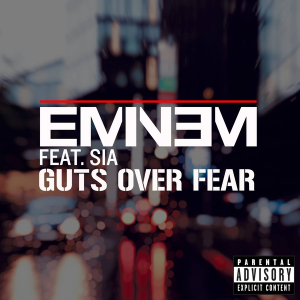Eminem featuring Sia — Guts Over Fear (studio acapella)