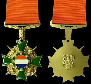Honoris crux diamond for Awards decoration