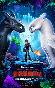 Poster How To Train Your Dragon 3