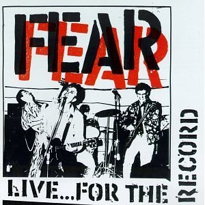 <i>Live...For the Record</i> 1991 live album by Fear