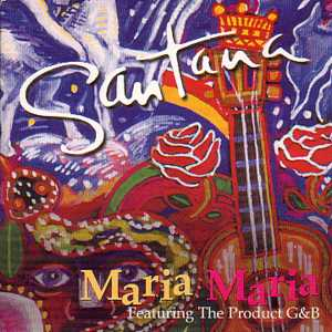 Santana featuring The Product G&B — Maria Maria (studio acapella)