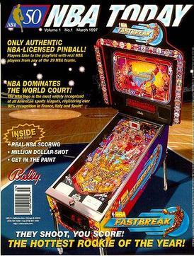 NBA Fastbreak (pinball) - Wikipedia