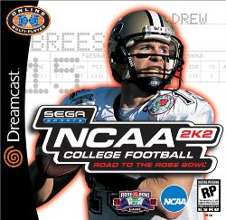 NCAA College Football 2K2: Road to the Rose Bowl