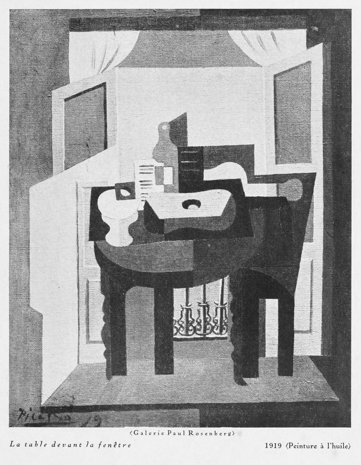 File:Pablo Picasso, 10, La table devant la fenêtre (The Table in