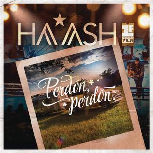 Perdón, Perdón single by Ha*Ash