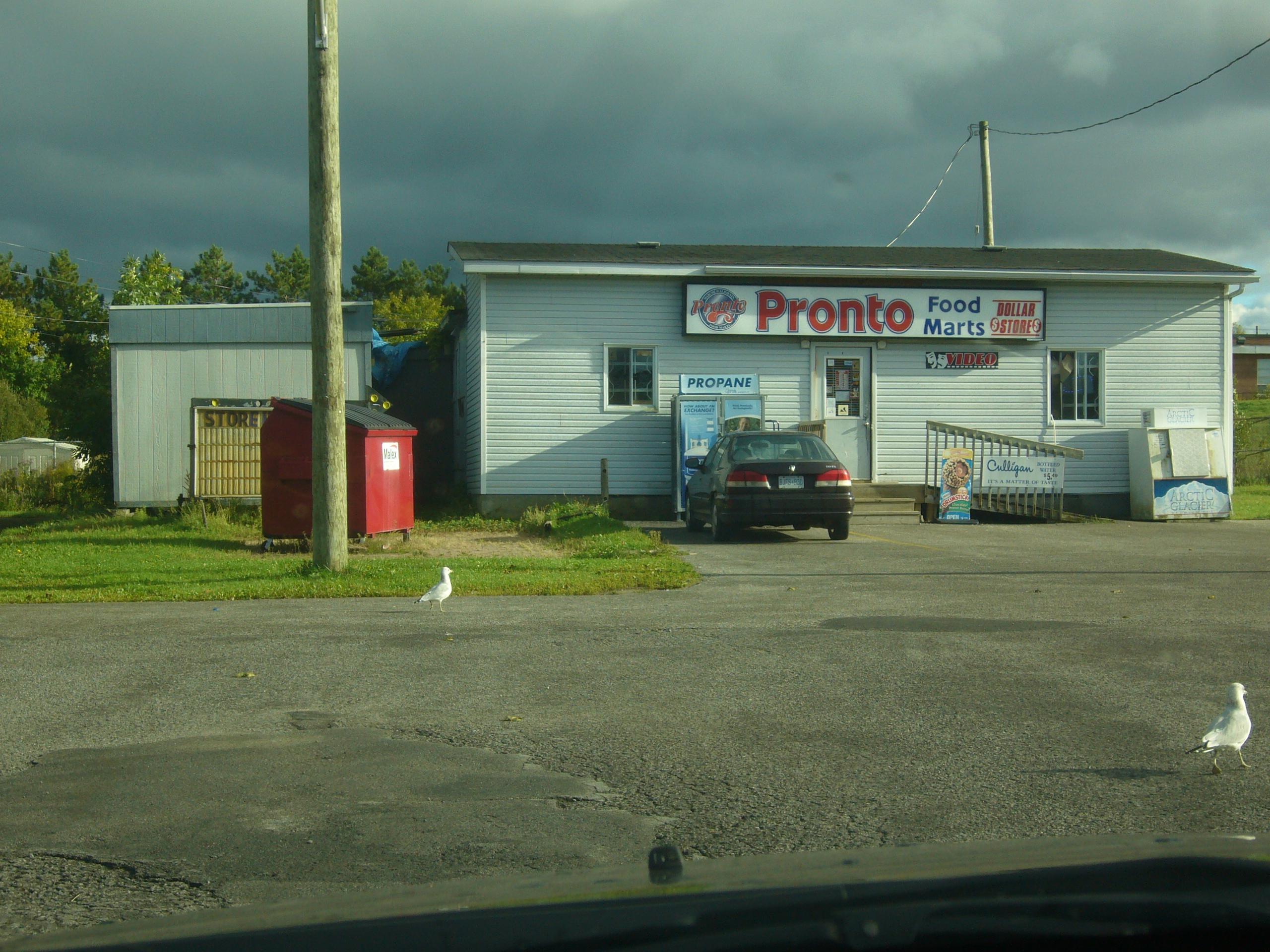 Pronto Food Mart Maxville Ontario