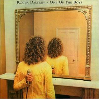<i>One of the Boys</i> (Roger Daltrey album) 1977 studio album by Roger Daltrey