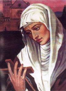 Agnes of Assisi Poor Clare abbess