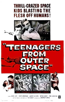 Cashing in on the teen film craze was big in the 50's. So after Teenage ...
