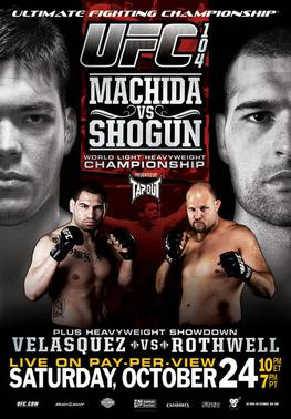 UFC 104 Machida vs. Shogun