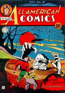 The Cover To All American Comics 61 By Paul Reinman