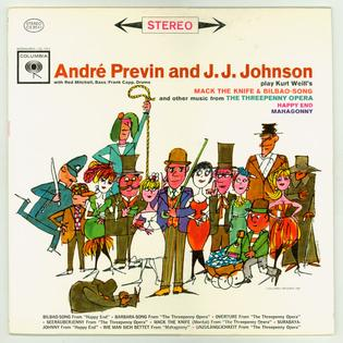 <i>André Previn and J. J. Johnson</i> 1962 studio album by André Previn and J. J. Johnson