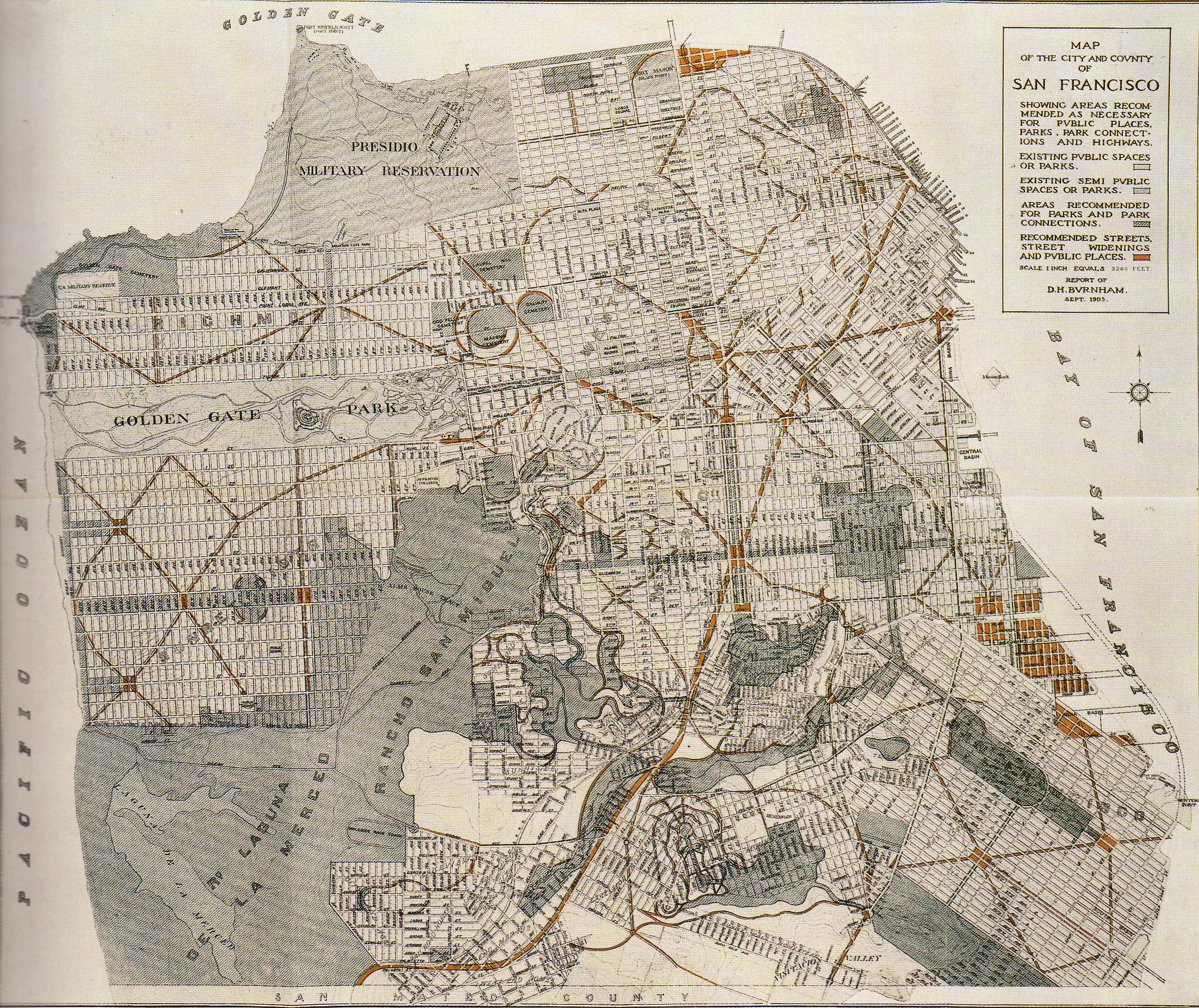 1906 Earthquake Map.San Francisco Had The 1906 Earthquake Not Happened Vivid Maps