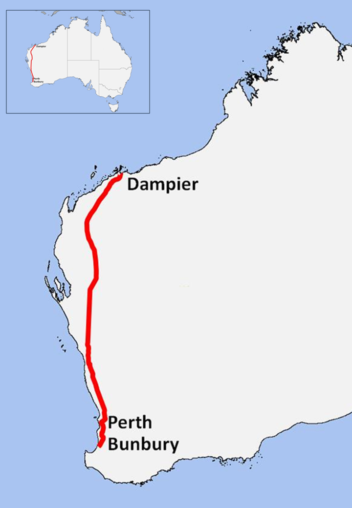 Dampier to Bunbury Natural Gas Pipeline Wikipedia
