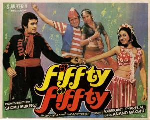 <i>Fiffty Fiffty</i> 1981 Indian film