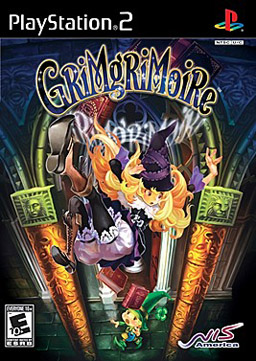 GrimGrimoire North American Boxart