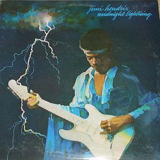 <i>Midnight Lightning</i> album by Jimi Hendrix