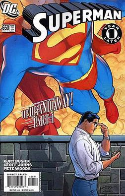 Superman Up Up And Away Wikipedia