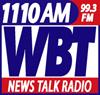 WBT (AM) clear-channel news/talk radio station in Charlotte, North Carolina, United States