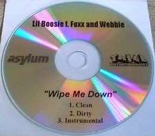 Lil Boosie featuring Foxx and Webbie - Wipe Me Down (studio acapella)