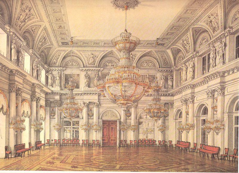 neva enfilade of the winter palace. Black Bedroom Furniture Sets. Home Design Ideas